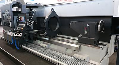 Drehmaschine GEMINIS - Eine typische Flachbettdrehmaschine