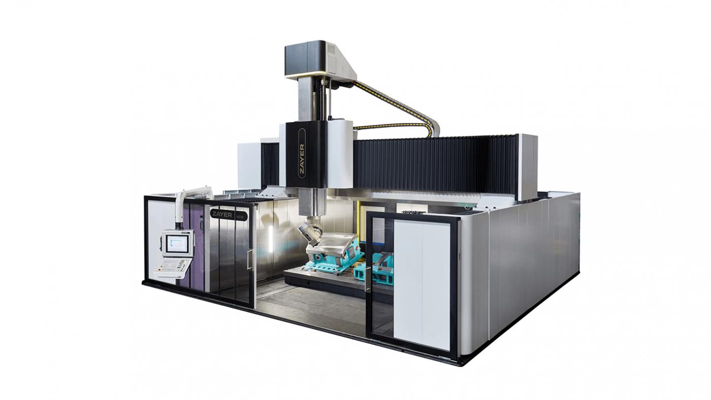 IBERIMEX-ZAYER Hochgantry-Portalfräsmaschine NEOS