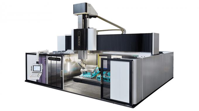 IBERIMEX-ZAYER Hochgeschwindigkeits-Portalfräsmaschine NEOS