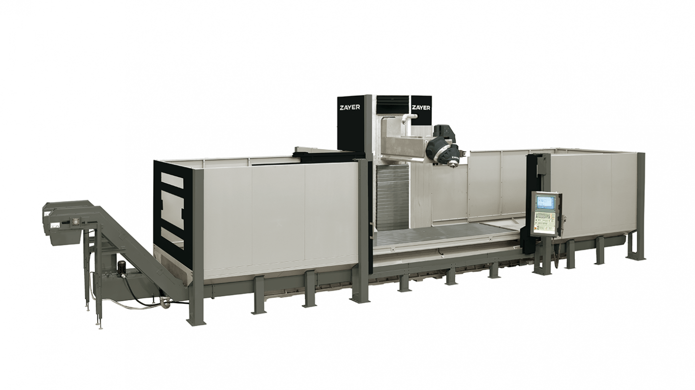 IBERIMEX-ZAYER Bettfräsmaschine XIOS